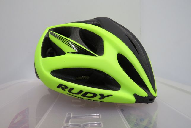 Kask Rowerowy Rudy Project Airstorm Yellow Fluo Black rozm. 54 - 58