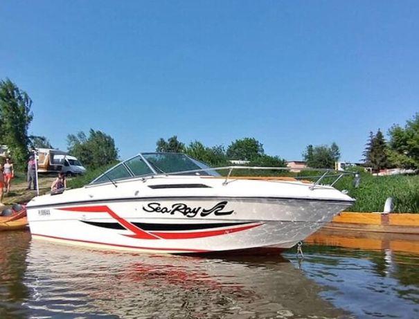 Sea Ray łódź kabinowa, łódź motorowa, jacht