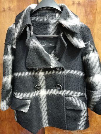 Пиджак Zara с укороченным руковом