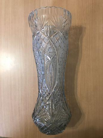 Хрустальная ваза высота 47см