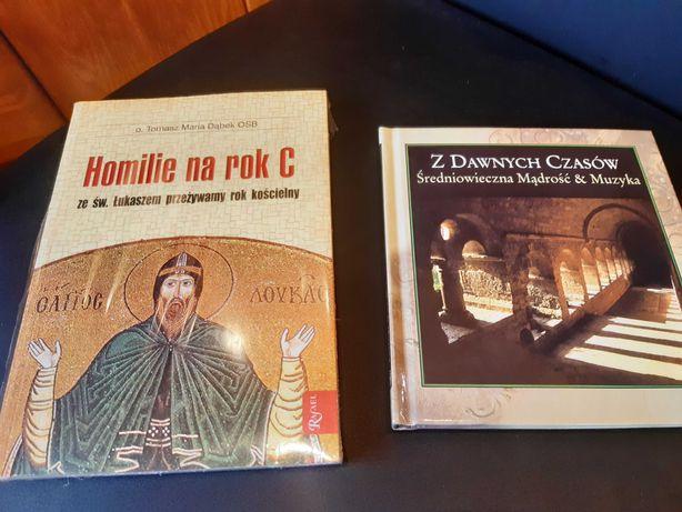 Oddam Z Dawnych Czasów i Homilie na rok C - książki z płytkami CD Nowe