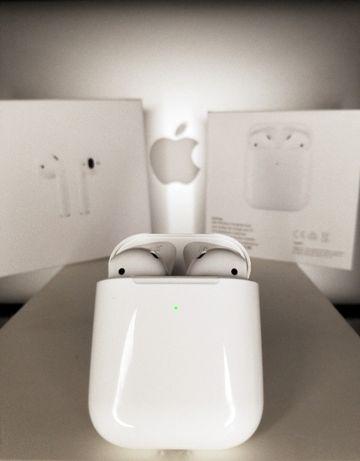 Наушники AirPods 2 Apple ГАРАНТИЯ аирподс 2 Оригинал эппл еирподс эпл