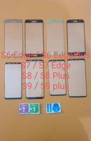 Película em vidro temperado S6 - S7 - S8 - S9