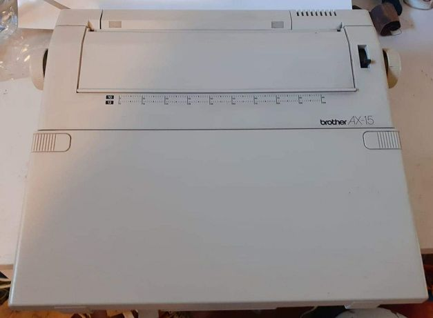 """Máquina de escrever """"Brother AX-15"""" Portátil Electrónico"""