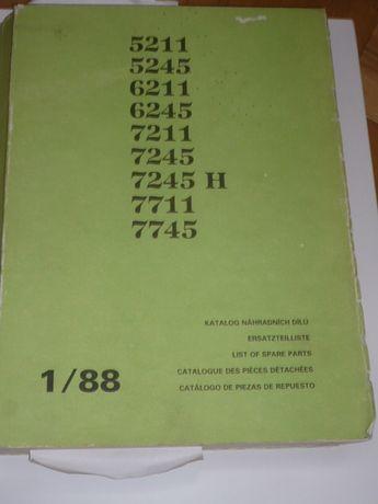 Katalog ZETOR 5211 do 7745