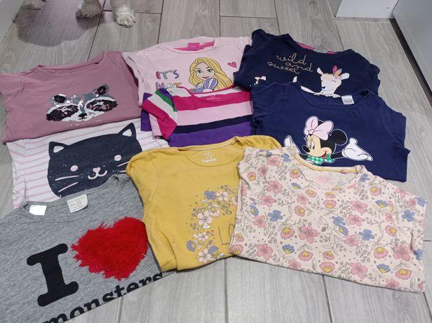 Zestaw bluzeczek dla dziewczynki