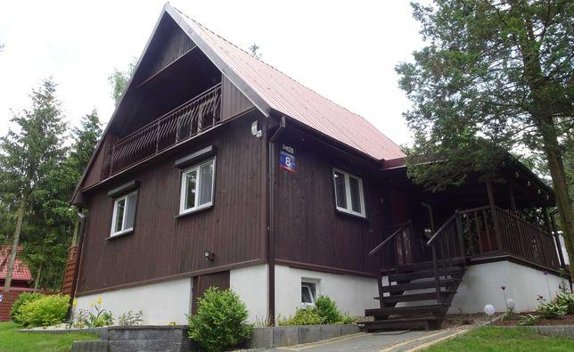 Dom drewniany do wynajęcia nad jeziorem Łąkie w Wólce, Tulipanowa 8