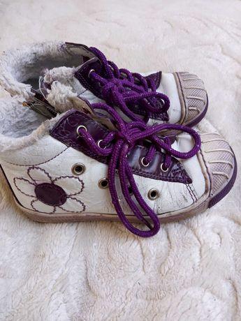 Ocieplane buty dziewczęce Lasocki r 26