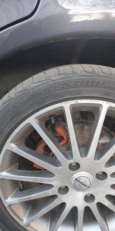 Продам недорого летнюю резину, шины 215/45 R17, Bridgestone