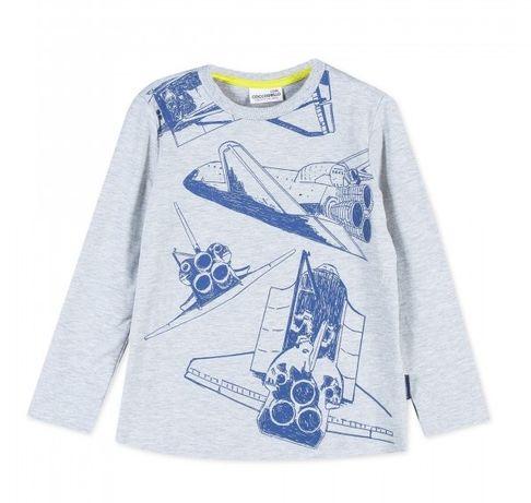 Bluzka chłopięca r. 110 koszulka t-shirt Coccodrillo