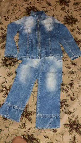 продам детский джинсовый костюм