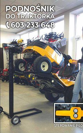 Podnośnik do kosiarki traktorka