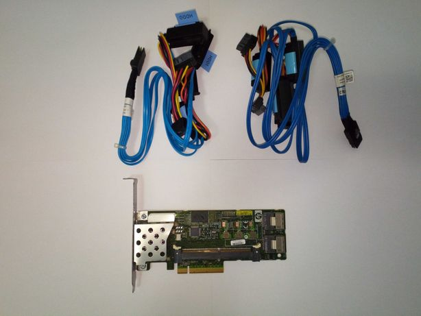 Controladora RAID HP P410 + cabos SAS