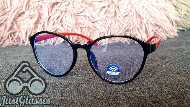 Oprawki okulary korekcyjne dziecięce z filtrem światła niebieskiego