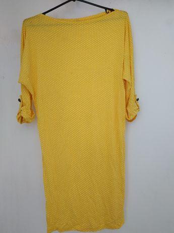 Sprzedam źółtą tunikę/sukienkę