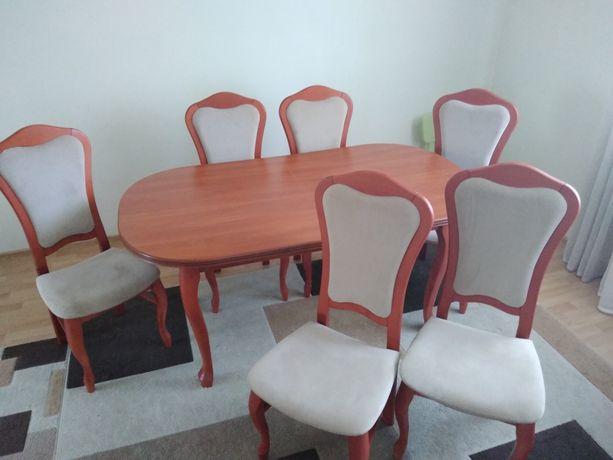 Stół + krzesła komplet