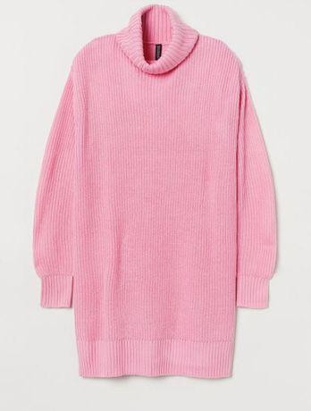 Cukierkowy  roz sweterek h&m 34 nowy