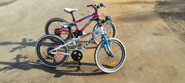 """Rower dziecięcy cube 200 20"""" chłopiec/dziewczynka 5-8 lat"""