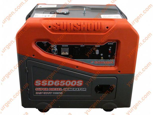 Продам Дизельный генератор SUNSHOW SSD6500S Электорогенератор