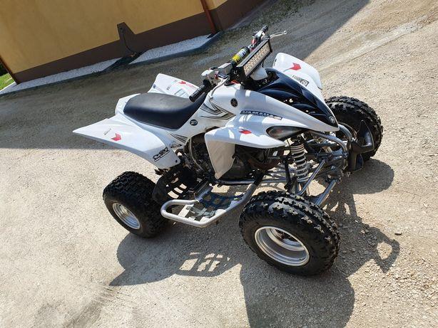 Yamaha raptor 350 po remoncie
