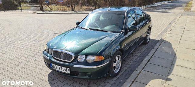 Rover 45 2.0 Diesel, Opłaty Aktualne  Klimatyzacja Sprawna