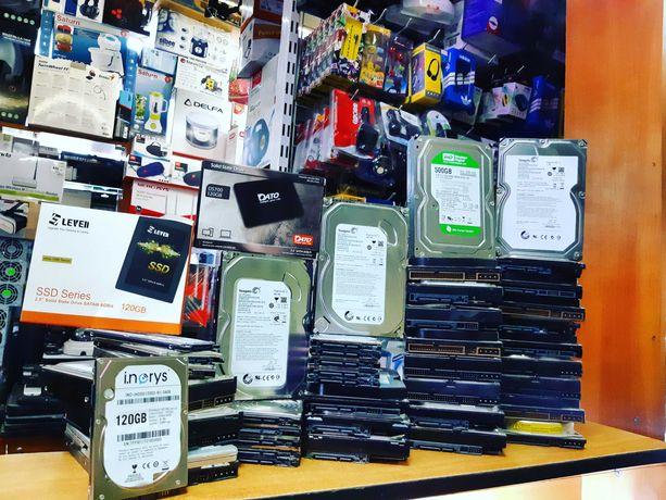 Винчестеры для системных блоков,ноутбуков,систем видеонаблюдения