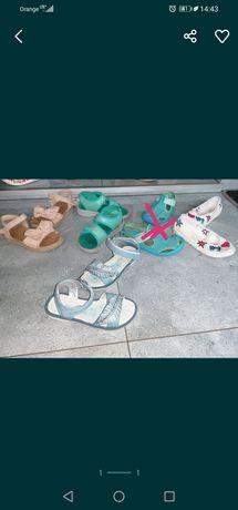 Sandałki trampki rozmiar 28 nowe i stan bdb