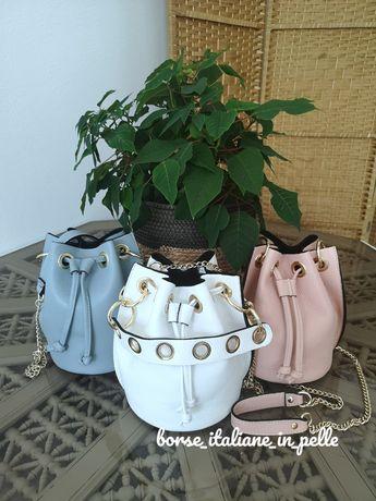 Женские кожаные итальянские сумочки BORSE ITALIANE IN PELLE