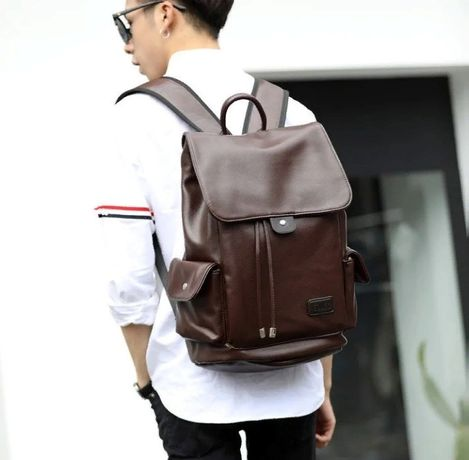 Модный мужской рюкзак городской большой вместительный для ноутбука