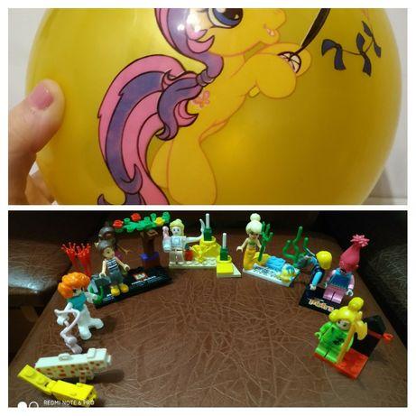 Конструктор Лего (Lego), конструктор Лего для девочек +мяч детский