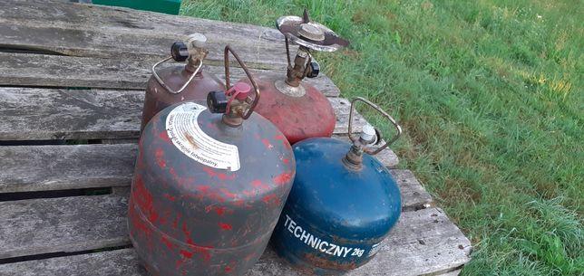 Butle gazowe turystyczne pełne z gazem sprzedam pojedynczo lub calosc