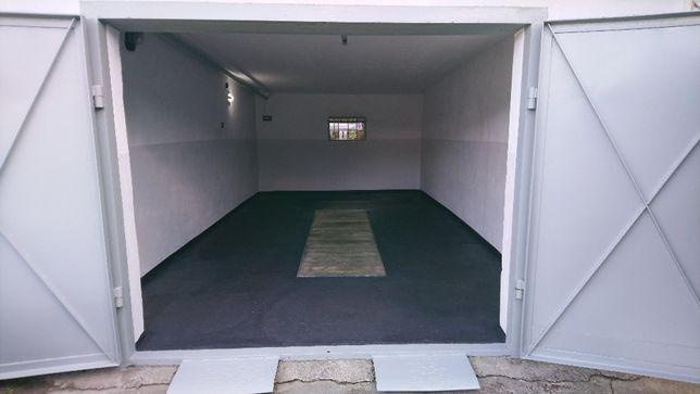 Garaż murowany, 24 m.kw. z kanałem - Oś. Chemików.