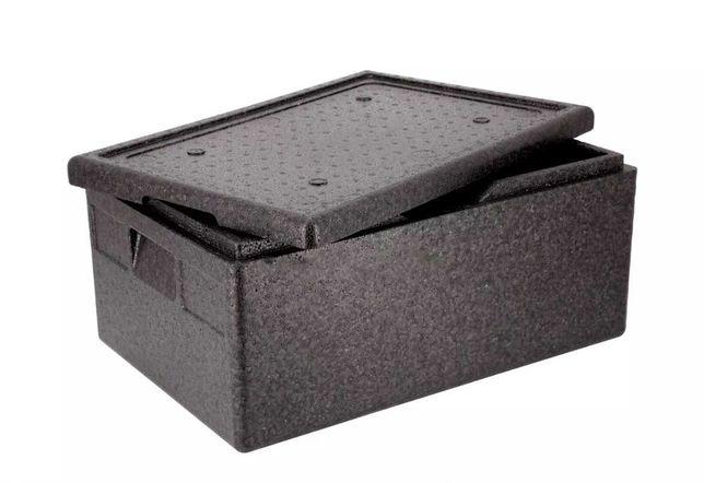 Pojemnik termoizolacyjny / styrobox Thermobox GN 1/1 200 mm z pokrywą