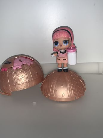 Золотой шар Lol c конфети оригинал