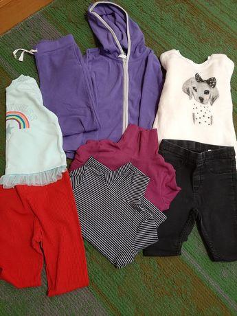 Одежда на девочку отдам все за 350 грн