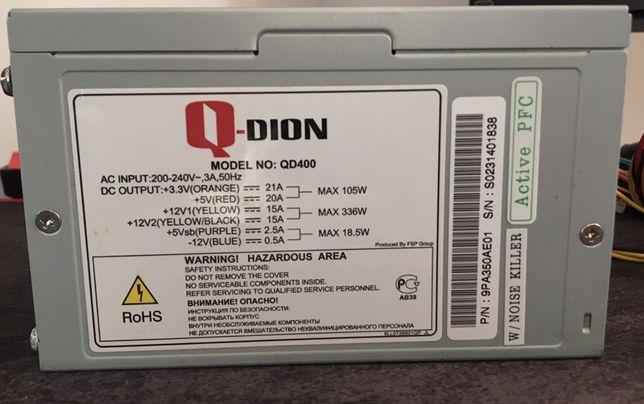 Блоки питания Qdion QD400-400W