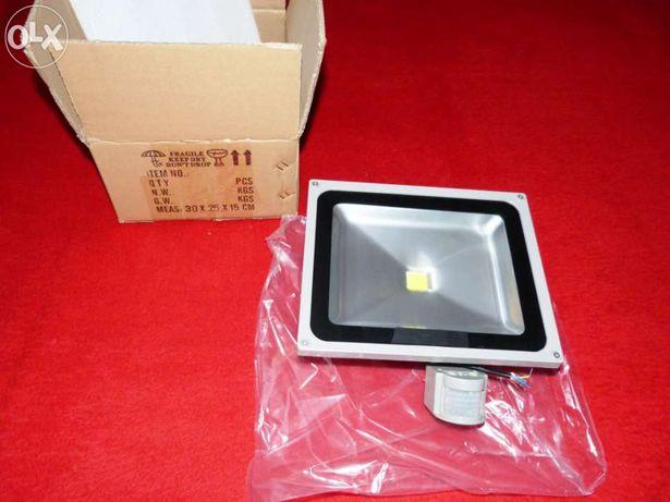 Projetor led 50w - sensor de movimento (novos)