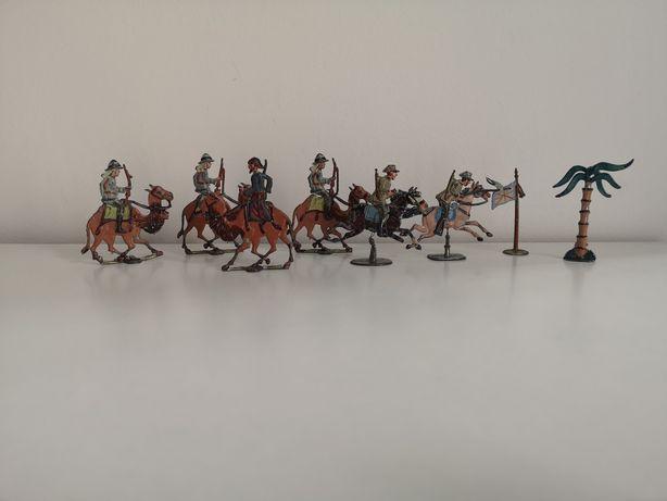 stare ołowiane figurki, żołnierzyki