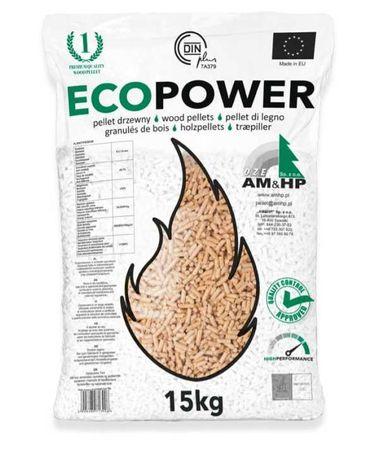 Pellet EcoPower Działoszyce CERTYFIKAT DIN PLUS