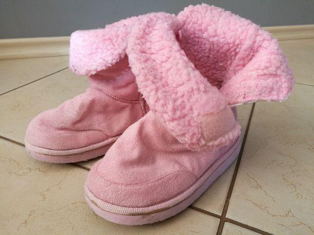Ciepłe botki dla dziewczynki