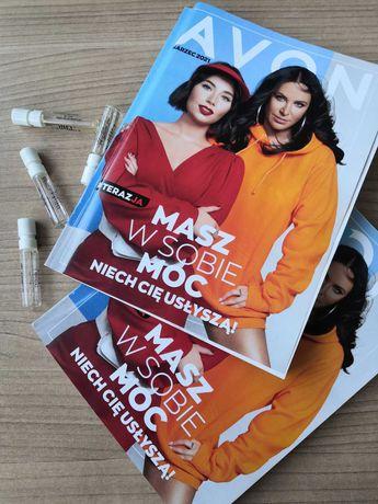 Katalog Avon marzec, kwiecień 2021+próbki za darmo