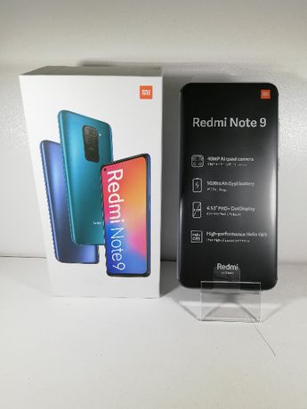 Xiaomi Redmi Note 9 64GB Gwarancja FVM Koszalin