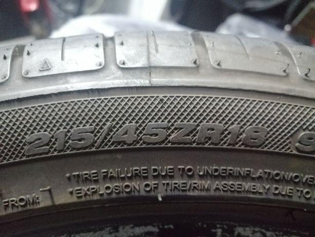 Opony 215/45/18 Goodride/Dunlop komplet tanio!