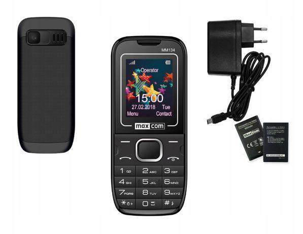 Telefon dla seniora, klawiszowy, prosty w obsłudze, aparat.