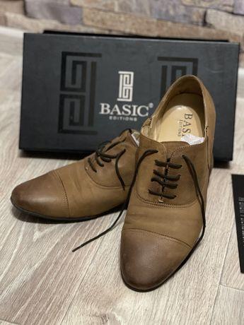 Туфли натуральная кожа Basic