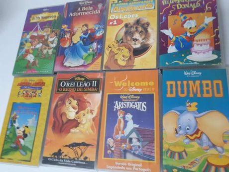 Filmes VHS's de BD