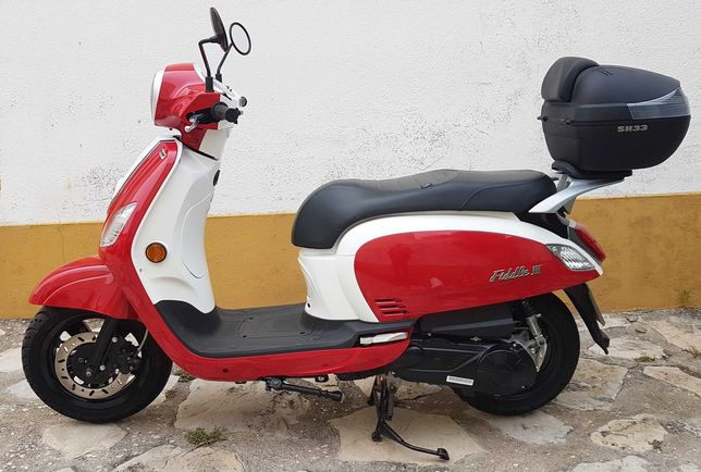 Moto 125cc NOVA 122km!