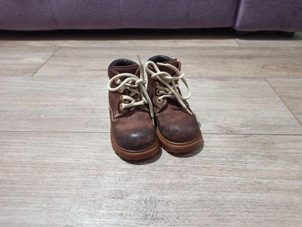 Кожаные ботинки Демисезонные 22 размер