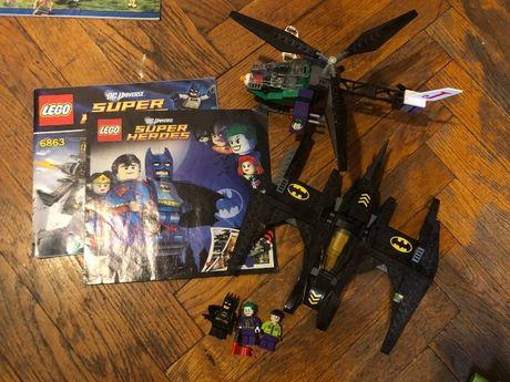 LEGO batman and joker 6863 super heroes dc comics