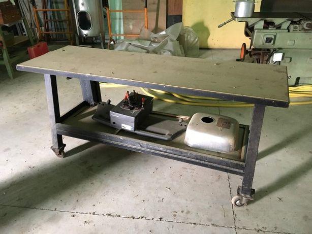 Bancada Carpinteiro metal com rodas
